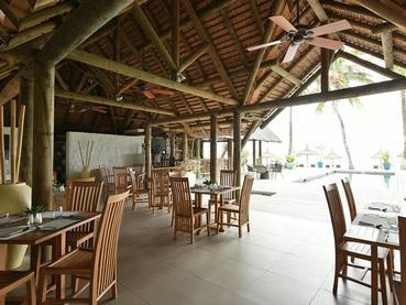 Le restaurant Oak de l'hôtel Le Sakoa à l'île Maurice