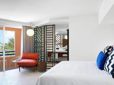 La chambre Sea View de l'hôtel SALT of Palmar