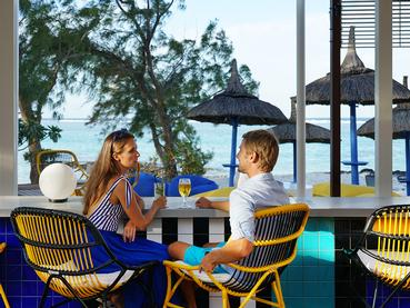 Le Beach Bar du SALT of Palmar Mauritius