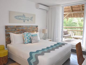 Suite du Seapoint Boutique Hotel à l'île Maurice