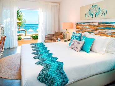 Chambre Deluxe du Seapoint Boutique Hotel à l'île Maurice