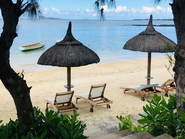 La petite plage du Seapoint Boutique Hotel