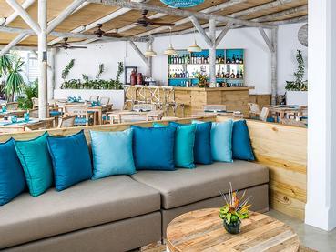 Le restaurant principal du Seapoint Boutique Hotel