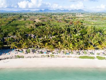 Vue du Seasense Boutique Hotel à l'île Maurice