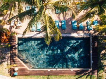 Profitez de la superbe piscine du Seasense Boutique Hotel