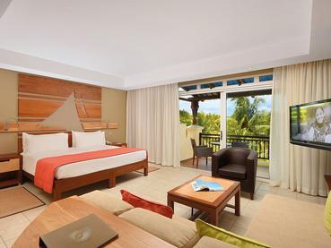 Deluxe Room de l'hôtel Le Shandrani à l'île Maurice