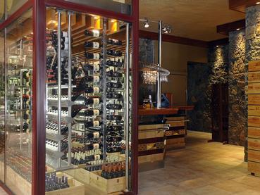 Une large sélection de vins vous attend au Shandrani