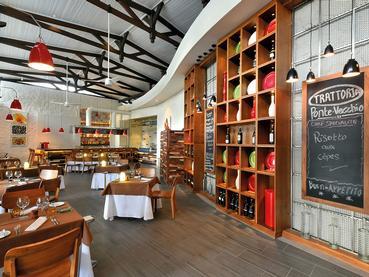 Le restaurant Ponte Vecchio de l'hôtel Shandrani