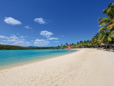 La superbe plage de l'hôtel Shandrani Beachcomber