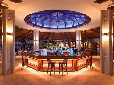 Blue Bay Bar de l'hôtel Shandrani à Mahebourg