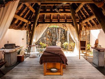 Le spa de l'hôtel 5 étoiles Shandrani Beachcomber