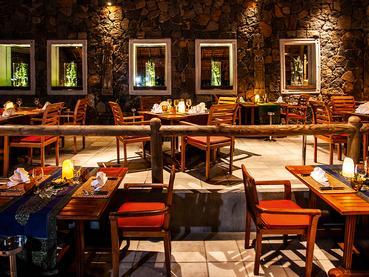 Spécialités thaïes au restaurant Teak Elephant du Shandrani