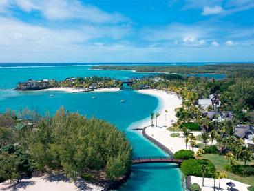 Vue aérienne du Shangri-La Le Touessrok Mauritius