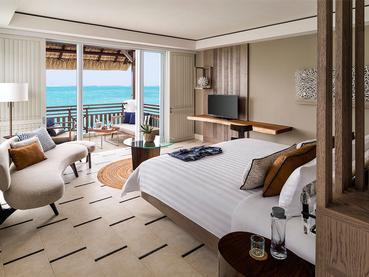 Junior Suite Frangipani Ocean view du Shangri-La