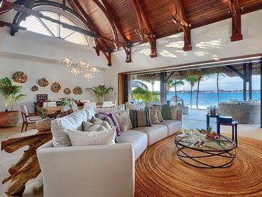 Beach Villa de l'hôtel Shangri-La Le Touessrok Mauritius
