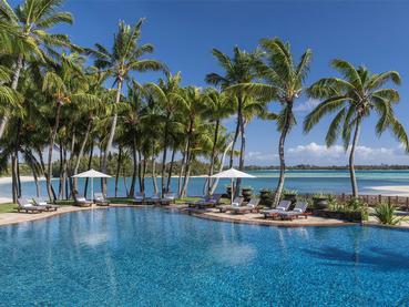 Piscine de l'hôtel Shangri-La Le Touessrok Mauritius