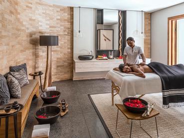 Spa de l'hôtel 5 étoiles Shangri-La Le Touessrok Mauritius