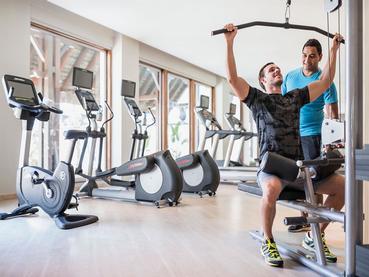 Gym du Shangri-La situé à Trou d'Eau Douce
