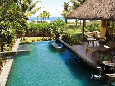 Oceanview Pool Villa - One bedroom du Shanti Maurice