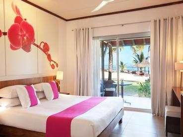 Beach Room de l'hôtel Tamassa à l'île Maurice