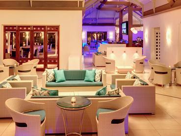 Le B Bar de l'hôtel Tamassa situé à Bel Ombre