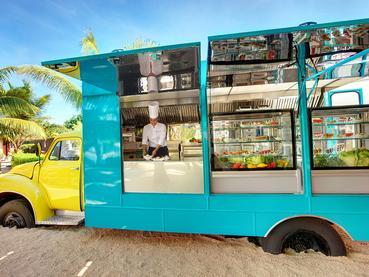 Le Food Truck de l'hôtel Tamassa à l'Ile Maurice