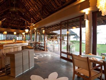 Le restaurant Show de l'hôtel Tamassa à l'île Maurice