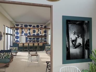 Le Tek Bar de l'hôtel Tekoma à l'île Rodrigues