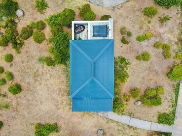Vue de la chambre Superior du Tekoma à l'île Rodrigues