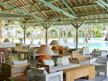 Le Pool Bar de l'hôtel Ravenala Attitude à l'île Maurice
