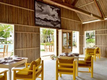 Le restaurant Kot Nou du Ravenala à l'île Maurice