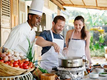 La cuisine Mauricienne n'aura plus de secret pour vous après un cours au Ravenala