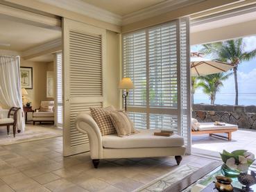 Colonial Ocean Front Suite de l'hôtel The Residence