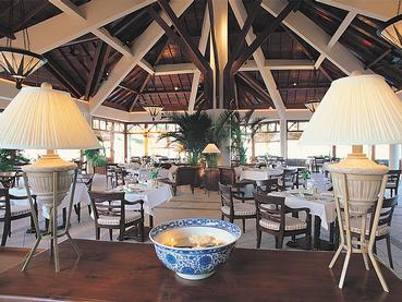 Le restaurant The Dining Room du Residence Mauritius