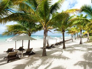 Profitez de la belle plage du Residence Mauritius