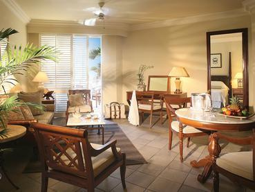 Colonial Senior Suite de l'hôtel The Residence Mauritius