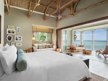 Beachfront Balcony Junior Suite du JW Marriott Mauritius