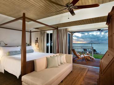 Beachfront Access St. Regis Suite de l'hôtel JW Marriott Mauritius
