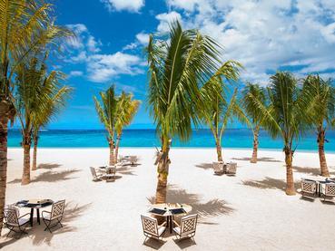 La plage du JW Marriott, l'une des plus belles plage de l'île Maurice