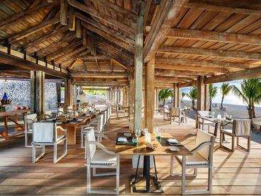 Le restaurant The Boathouse Grill du JW Marriott Mauritius