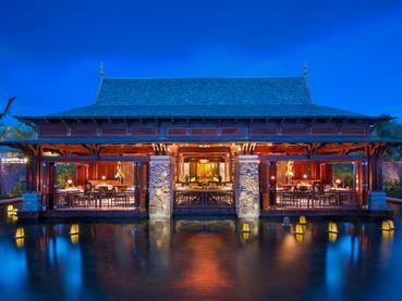 Le restaurant Floating Market du JW Marriott Mauritius