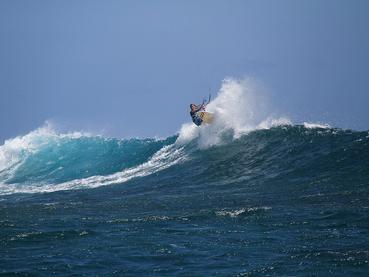 Les passionnés de kite-surf se réjouiront au JW Marriott