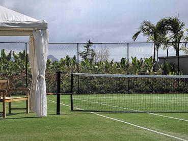 Court de tennis de l'hôtel The Westin à l'Ile Maurice