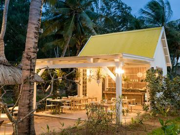 Le restaurant Kot Nou de l'hôtel Le Tropical Attitude