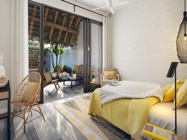 Villa de l'hôtel Tropical Attitude à l'île Maurice