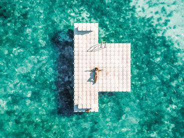 Profitez du lagon cristallin du Trou Aux Biches Beachcomber