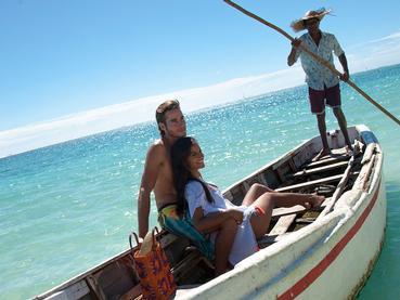 Balade en mer à l'hôtel Veranda Palmar à Belle Mare