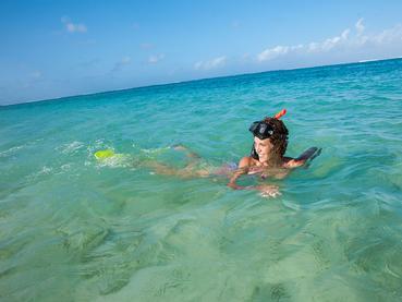 Le Veranda vous charmera par son lagon aux eaux turquoise