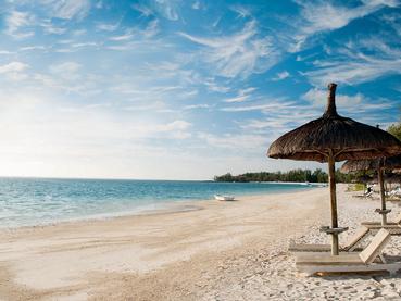 La plage du Veranda Palmar, l'une des plus belles plages de l'île Maurice