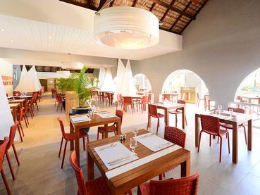 Le restaurant Regatta de l'hôtel Veranda à l'Ile Maurice